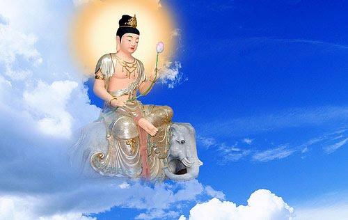 Kinh nguong Pho Hien Bo Tat - huong toi anh sang chan ly tu hanh hinh anh