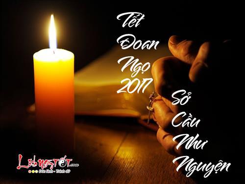 Cung le Tet Doan Ngo 2017 the nao de su nghiep, tai loc, tinh duyen thinh vuong hinh anh