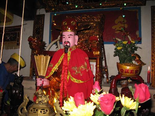 Van khan Le Thanh hoang o Dinh, Den, Mieu