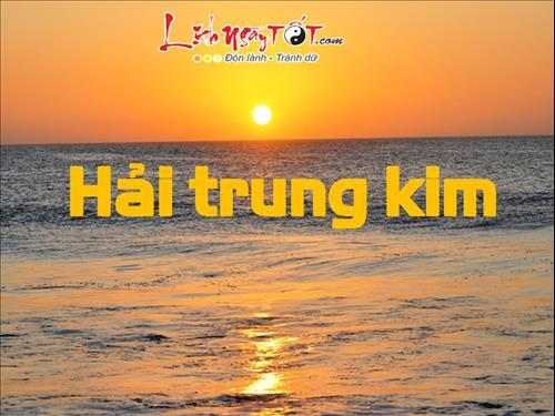 ngu hanh nap am Hai Trung Kim