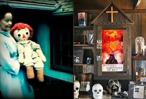 Lorraine Warren (anh trai) mang Annabelle den bao tang Occult