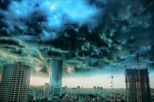Dự báo thời tiết ngày mai 15/10: Hà Nội, Hải Phòng dông bão