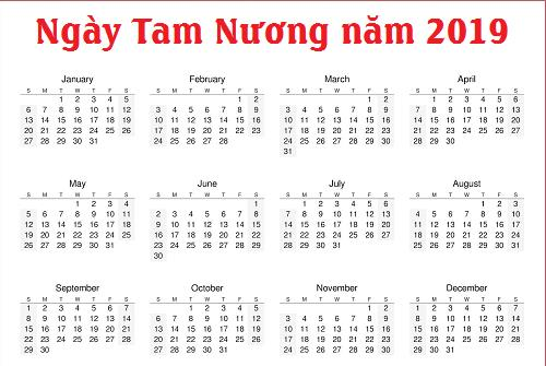 xem lich ngay tam nuong 2019