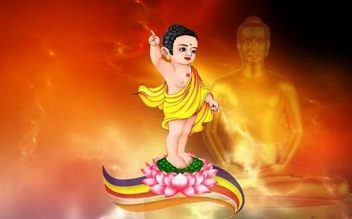 Những điềm báo cát tường trong ngày Đức Phật đản sinh