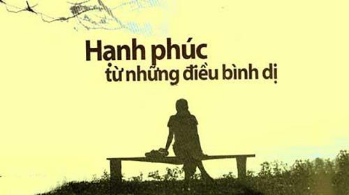 hanh phuc den tu nhung dieu gian di