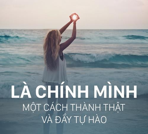 hay song dung voi ban than minh