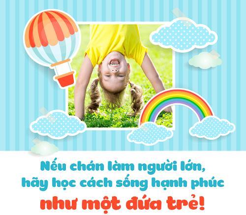 song hanh phuc nhu dua tre