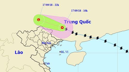 Bao so 6 - sieu bao Mangkhut di sau va tan tren dat lien Trung Quoc