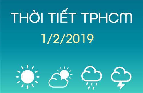 Dự báo thời tiết TPHCM 1/2: Ban ngày trời nắng gắt, tối không mưa