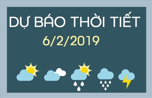 Dự báo thời tiết 6/2: Mùng 2 Tết thời tiết cả nước không có nhiều biến động