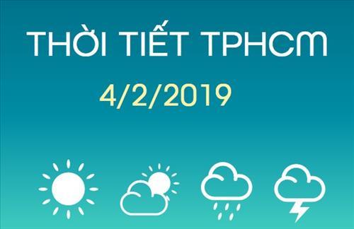 Dự báo thời tiết TPHCM 4/2: Ngày cuối năm trời nắng nóng, tối quang mây