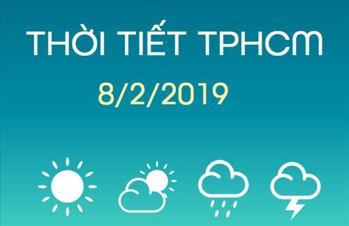 Dự báo thời tiết TPHCM 8/2: Ban ngày trời nắng gắt, chỉ số tia UV ở mức rất cao