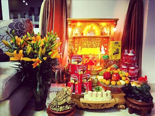 Le vat cung Than Tai Tho Dia