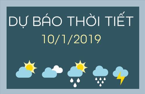 Dự báo thời tiết 10/1: Miền Bắc mưa lạnh, vùng núi cao rét đậm 8 độ C
