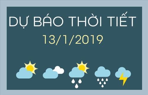 Dự báo thời tiết hôm nay 13/1: Đông Bắc Bộ có sương mù, miền Nam nắng có dông vài nơi