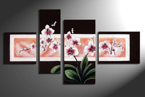 tranh hoa lan phong thuy