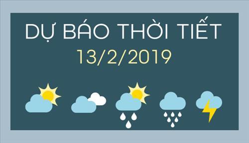 Dự báo thời tiết 13/2: Bắc bộ tiếp tục mưa rải rác, chất lượng không khí thủ đô Hà Nội ở mức trung bình