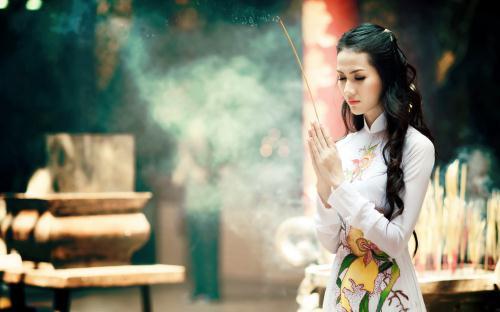 Van khan le Den cau tai loc, cong danh