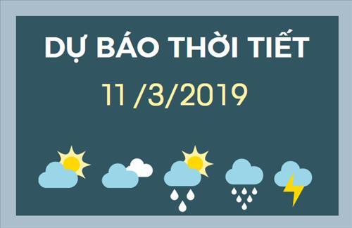 Dự báo thời tiết 11/3: Miền Bắc vẫn còn mưa vài nơi, trời rét