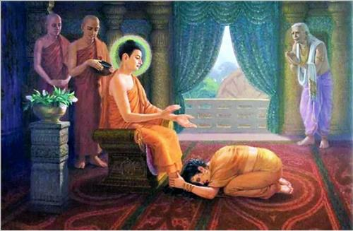 Duc Phat khen ngoi tam long chung thuy cua Da Du Da La