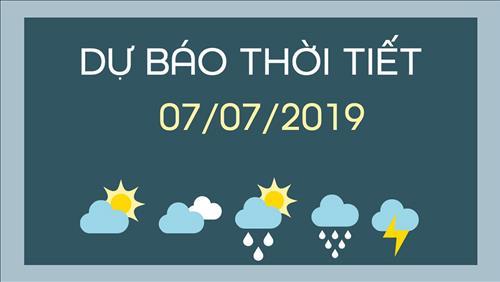 Dự báo thời tiết 7/7: Nắng nóng mở rộng