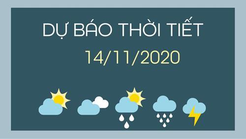 Dự báo thời tiết ngày mai 14/11/2020: Ảnh hưởng bão số 13, các tỉnh từ Hà Tĩnh đến Quảng Nam mưa lớn diện rộng