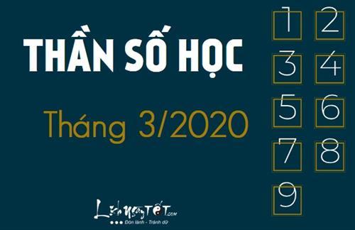Xem bói ngày sinh: Dự đoán vận mệnh tháng 3/2020 theo Thần số học