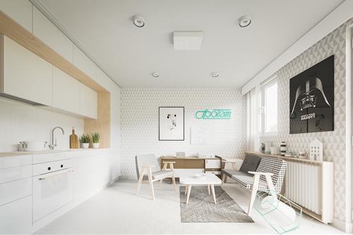 Ý tưởng thiết kế căn hộ diện tích nhỏ, chỉ 20m2 mà vẫn đẹp và sang lạ
