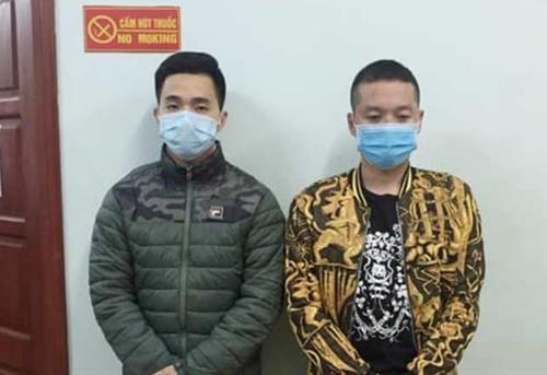 Hai doi tuong chong nguoi thi hanh cong vu