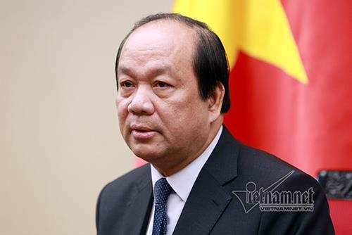 Bo truong Mai Tien Dung