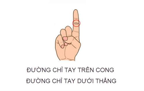duong chi tay tren cong duong chi tay duoi thang