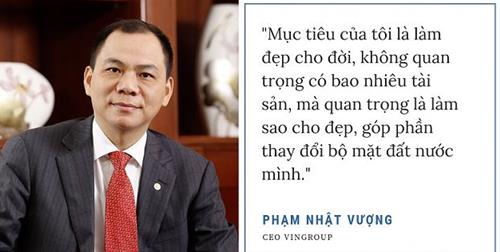 triet ly kinh doanh cua Pham Nhat Vuong