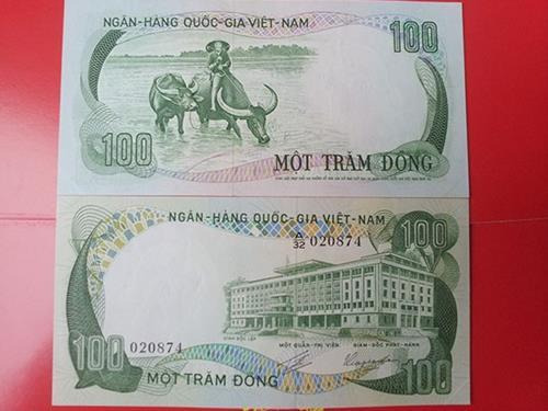 tien 100 dong vietnam