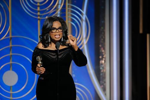 Oprah Winfrey có khả năng truyền cảm hứng tới mọi người