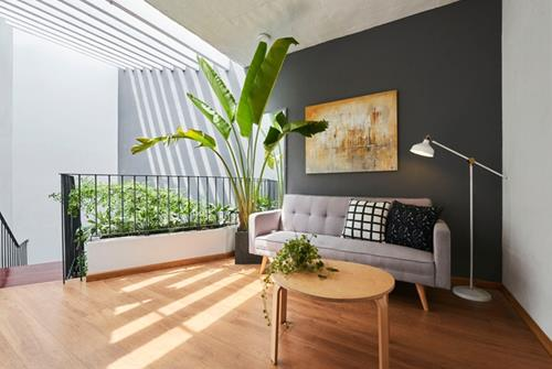 Giếng trời tăng tính thẩm mỹ cho ngôi nhà