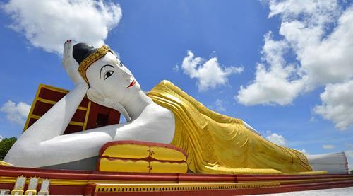 tượng Phật đẹp nhất thế giới - tượng Monywa Myanmar
