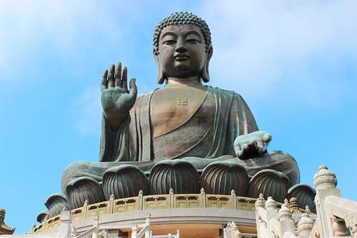 Tượng Phật Thiên Đàn ở Hong Kong