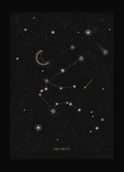 Hình dạng chòm sao Bảo Bình