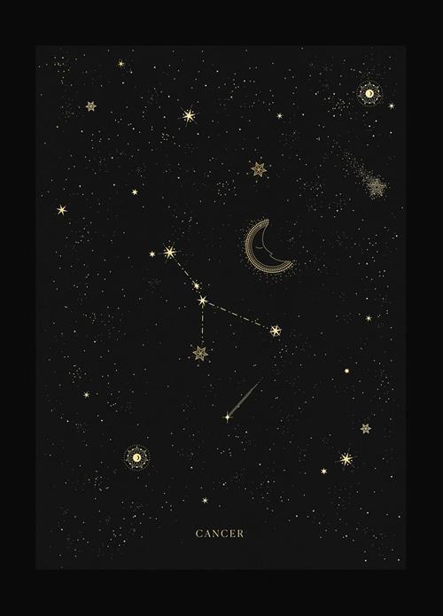 Hình dạng chòm sao Cự Giải