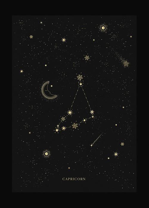 Hình dạng chòm sao Ma Kết