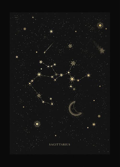 Hình dạng chòm sao Nhân Mã