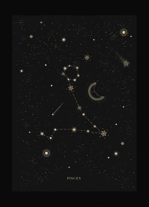 Hình dạng chòm sao Song Ngư