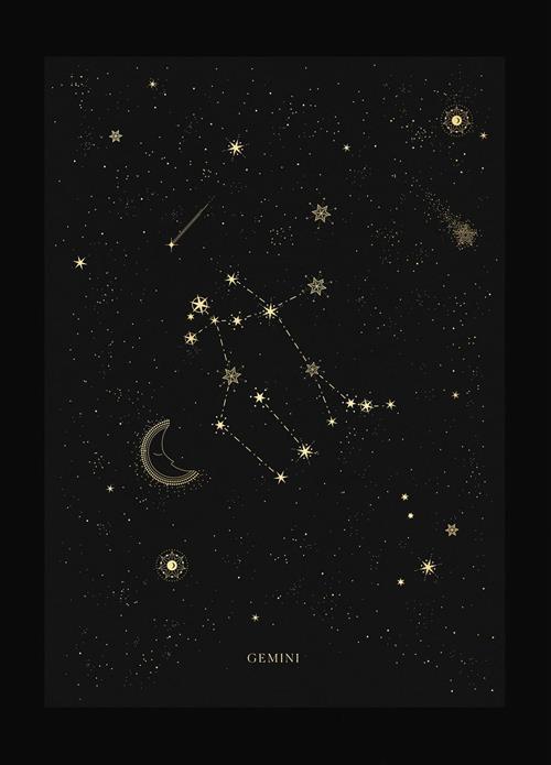 Hình dạng chòm sao Song Tu