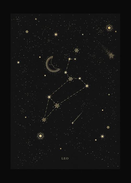 Hình dạng chòm sao Sư Tử