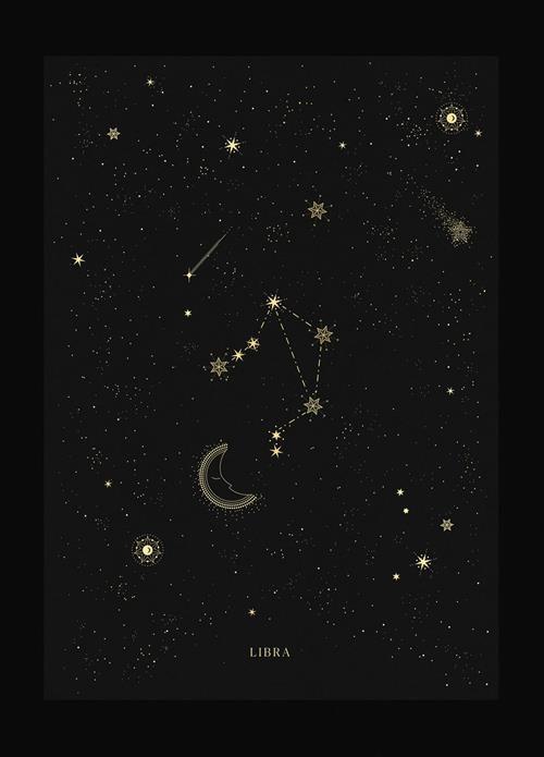Hình dạng chòm sao Thiên Bình