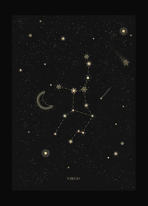Hình dạng chòm sao Xử Nữ