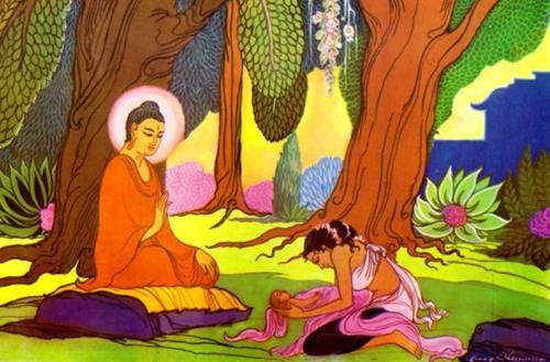 Đức Phật giúp người phụ nữ thoát khỏi nỗi đau mất con