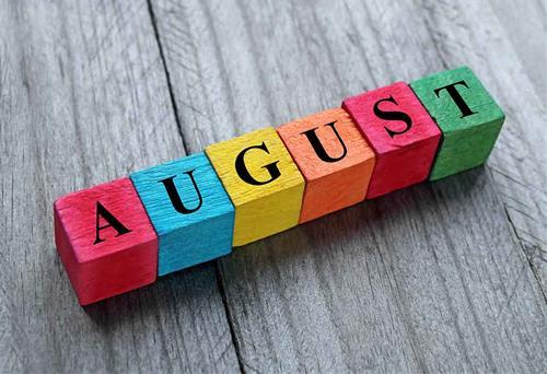 Ngày may mắn tháng 8/2021 của 12 chòm sao