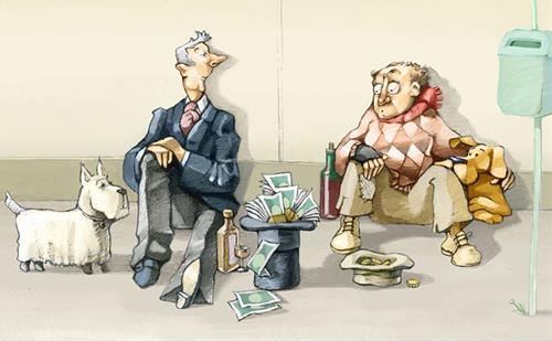 giàu nghèo khác nhau tư duy cho tới hành xử