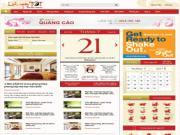 Chuyên trang Lichngaytot.vn: Giao diện mới, tầm cao mới